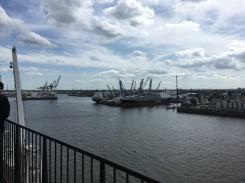 Harbor in Hamburg