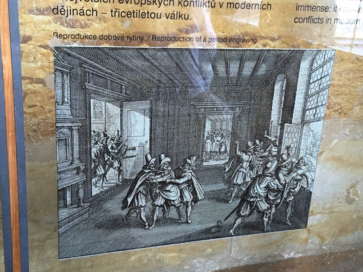Artist's conception of the Defenestration