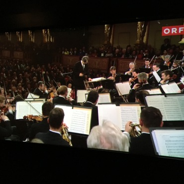 (Video Capture) Ricardo Muti (U. Penn Class of '83 Graduation Speaker) conducting the Vienna Symphony Orchestra