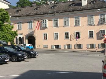 Mozart's residence in Salzburg
