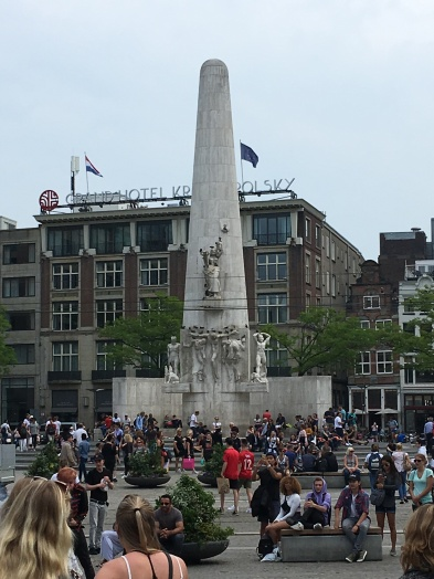 WWII Monument in Dam Square